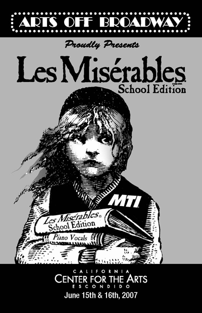 Les Miserables front page